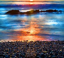 Painted sunrise by Arek Rainczuk