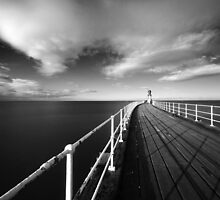 Whitby - West Pier by PaulBradley