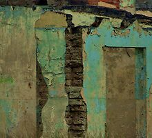 Weathered wall by Erika Gouws
