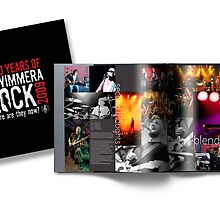 50 Years of ROCK Hardcover Book by 50YEARS