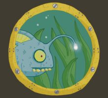 fish in porthole... by kangarookid