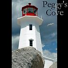 Peggy's Cove Lighthouse by KardsRUs