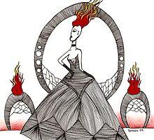 Fire Goddes by Octavio Velazquez