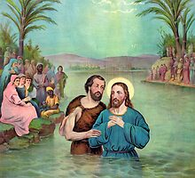 Baptism of Jesus Christ by Vintage Works