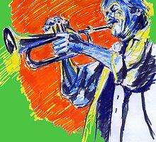 Jazz portraits-Enrico Rava by Francesca Romana Brogani