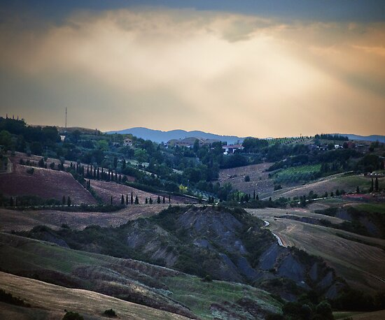 Tuscan Dusk by Mary Ann Reilly