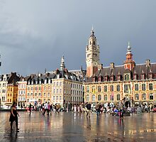 Lille, France 2 by Pat Herlihy
