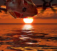 Liberator Sunset by Colin J Williams Photography