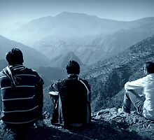 Three Thinkers by Sanjay  Kumar