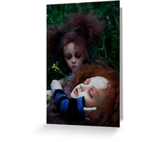Lyre and Lover Greeting Card