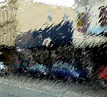 Abstract on a Rainy Day by graeme edwards