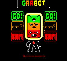 GARBOT Black Background by atombat