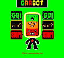 GARBOT Green Background by atombat