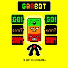 GARBOT Yellow Background by atombat