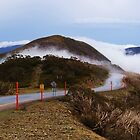 the fogs rolling in the mountains,panorama by dmaxwell