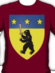 Bear Jew Crest Inglorious Basterds (Bastards) T-Shirt