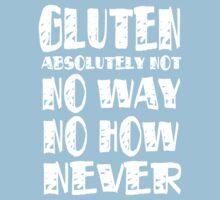 Gluten Free No Gluten by gleekgirl