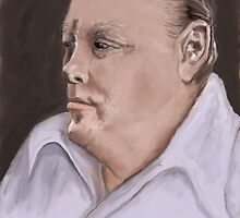 Winston Churchill after John by MayWebb