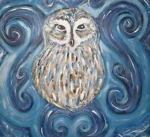 Spirit Owl by Natasha  Hurst