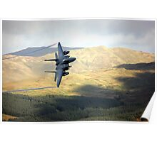 F15 over Wales Poster