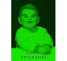 Merry Grinchmas to all Photographic Print
