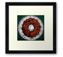 Monkey Bread Framed Print