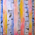 Birch Trees by Marita McVeigh
