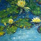 Water Lilies by Claudia Hansen