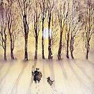 It'll be a grand Christmas, Jess by artbyrachel