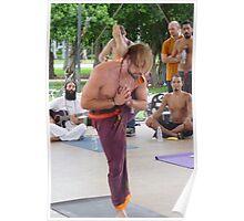 Advanced Yoga Position Series ... Poster