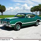 1970 Oldsmobile Cutlass 442 by 454autoart