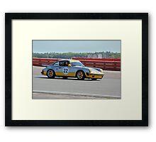 Silver Porsche 911 Framed Print