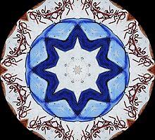 Graffito kaleidoscope #23 by Roberto Pagani