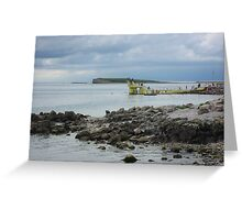 To Blackrock, Gentian Hill and Beyond Greeting Card