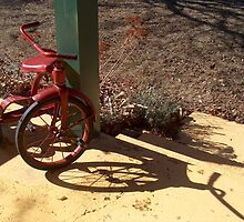 Red Tricycle by sandycarol