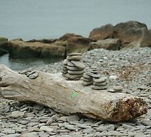 Stacked Rocks by Lynn  Gibbons