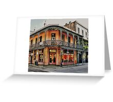Fine Arts Store Greeting Card