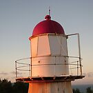 Lighthouse at sunset, Cooktown by Alex Bonner