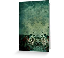 Abstraction cubique 2 Greeting Card