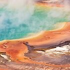Grand Prismatic Spring by James  Monk