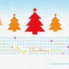Merry Christmas greetings by aannda