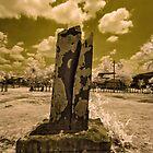 Khmer Stele With Sanskrit Inscription - Ban That, Champassack, Laos by AsiaArchaeology