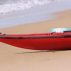 Canoe on the Beach by Pamela Jayne Smith