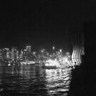 Dockside At Night by Nenad  Njegovan