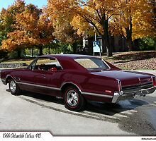 1966 Oldsmobile Cutlass 442 by 454autoart