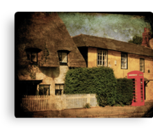 Our Telephone Box Canvas Print