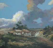 Landscape after Gainsborough by Esther Boshoff