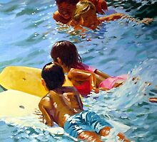 Boogie Board Tag Team by Norman Kelley