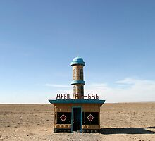 Near the Aral Sea, Kazakhstan by Christopher Herwig