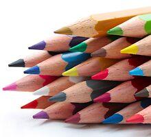 Pencils by portosabbia